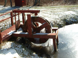 water wheel at Gem Valley